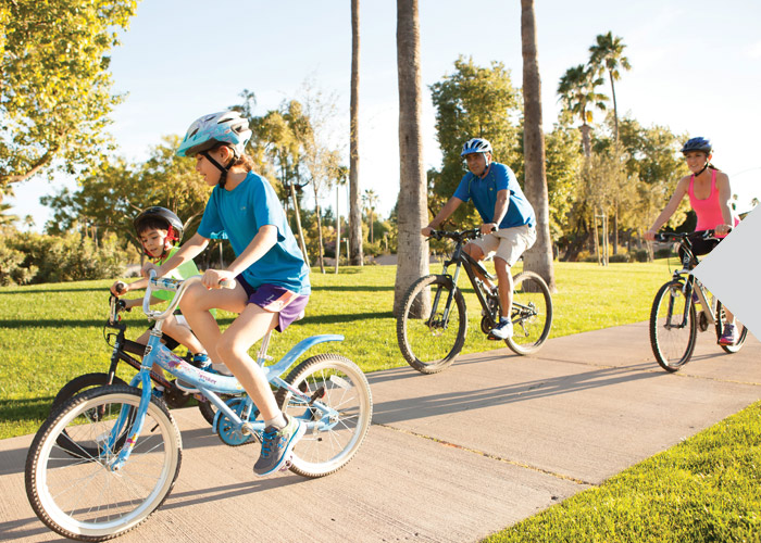 Interactive Bicycle Trail Map